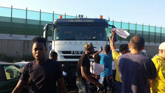 CARA di Castelnuovo di Porto riparte la protesta