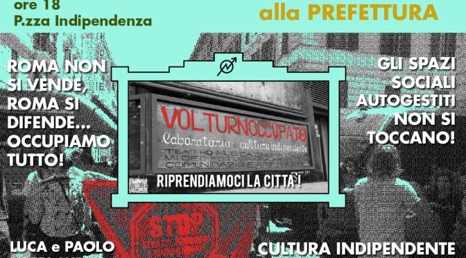 Sgomberato il Teatro Volturno #17L CORTEO CITTADINO