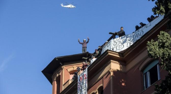 Roma, #12D: cortei, blocchi e occupazioni.