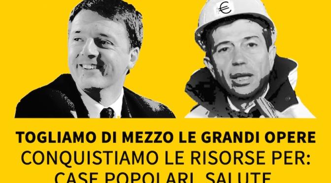 28 Marzo-Piazza della dignità contro le grandi opere