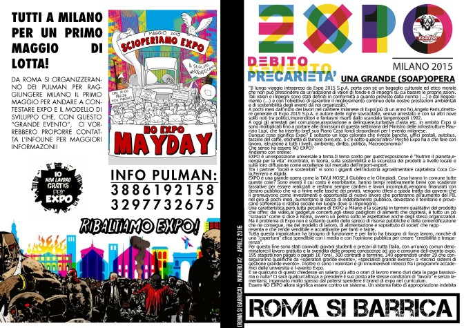 Verso un 1° Maggio di lotta #NoExpo