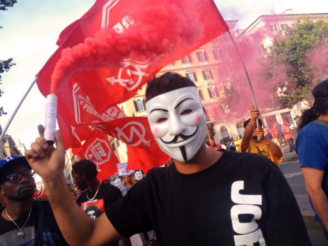 #18G il mondo di sotto in piazza: la nostra rabbia contro la vostra legalità!