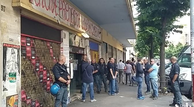 Sgomberato il CineTeatroPreneste: #MafiaCapitale continua!