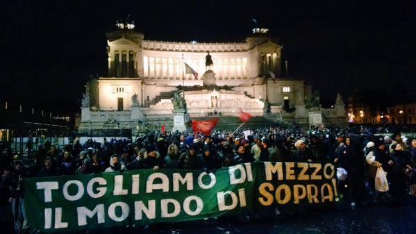Mafia capitale, l'emergenza, i movimenti e l'ordine pubblico.