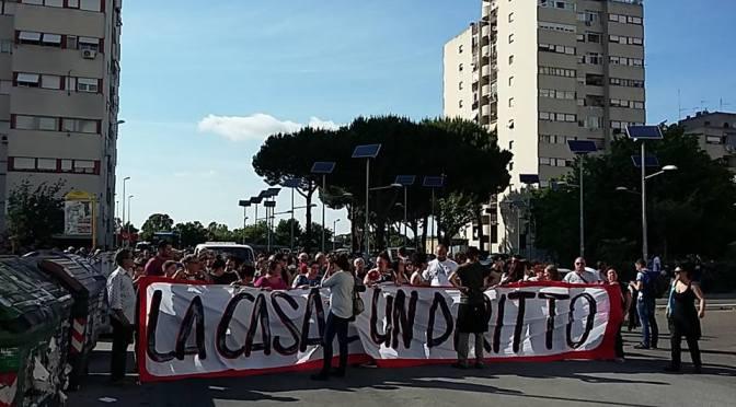30M corteo per la casa a Roma Nord: insieme resistere è possibile