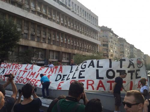 A Don Bosco contestato il PD #AntiMafiaCapitale