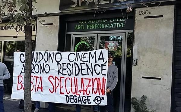 Al Pigneto chiudono i cinema ed aprono Residence. Basta speculazioni!