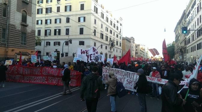 """3 piazze romane un primo risultato: i migranti non sono più un """"oggetto da mostrare"""""""